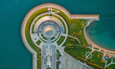 2021.07.27 - 密歇根湖畔的阿德勒天文馆, 芝加哥伊利诺伊州