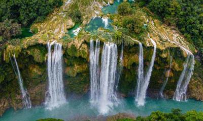 2020.07.27 - 圣路易斯波托西州的Tamul瀑布,墨西哥