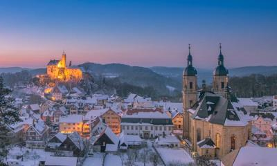 2021.01.03 - 远眺格斯韦因斯泰因村和格斯韦因斯泰因城堡