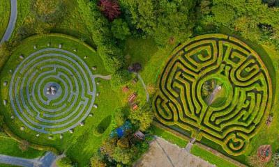 Greenan迷宫,爱尔兰威克洛郡