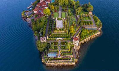 马焦雷湖畔的贝拉岛 ,意大利皮埃蒙特