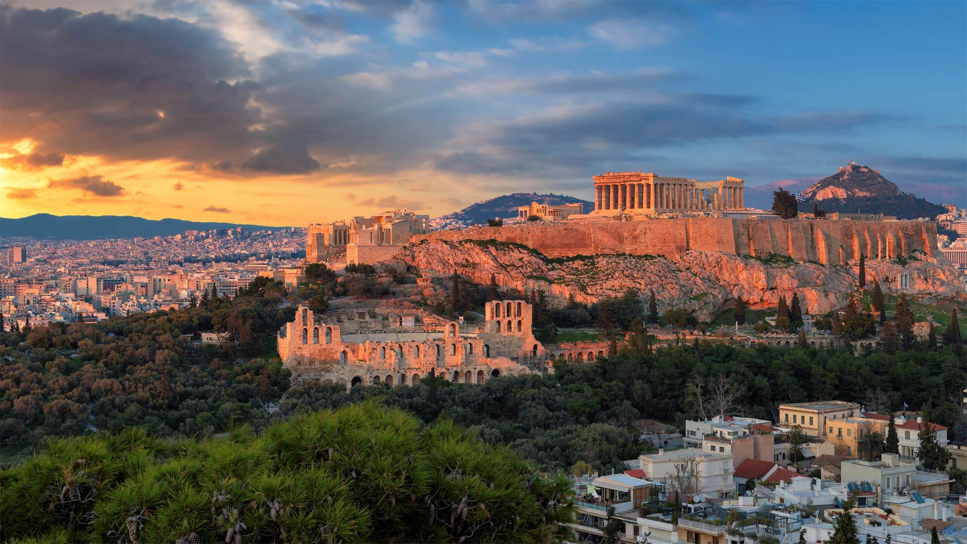 雅典卫城的帕特农神庙,希腊 (© Lucky-photographer/Shutterstock)
