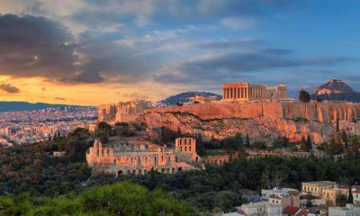 雅典卫城的帕特农神庙,希腊