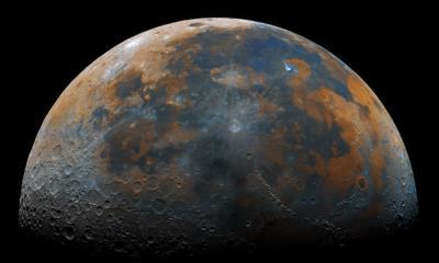 2021.07.20 - 月球的高清合成影像