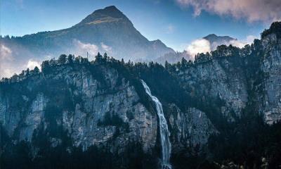 莱辛巴赫瀑布,瑞士伯尔尼高地