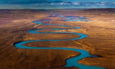 圣克鲁斯河,阿根廷巴塔哥尼亚