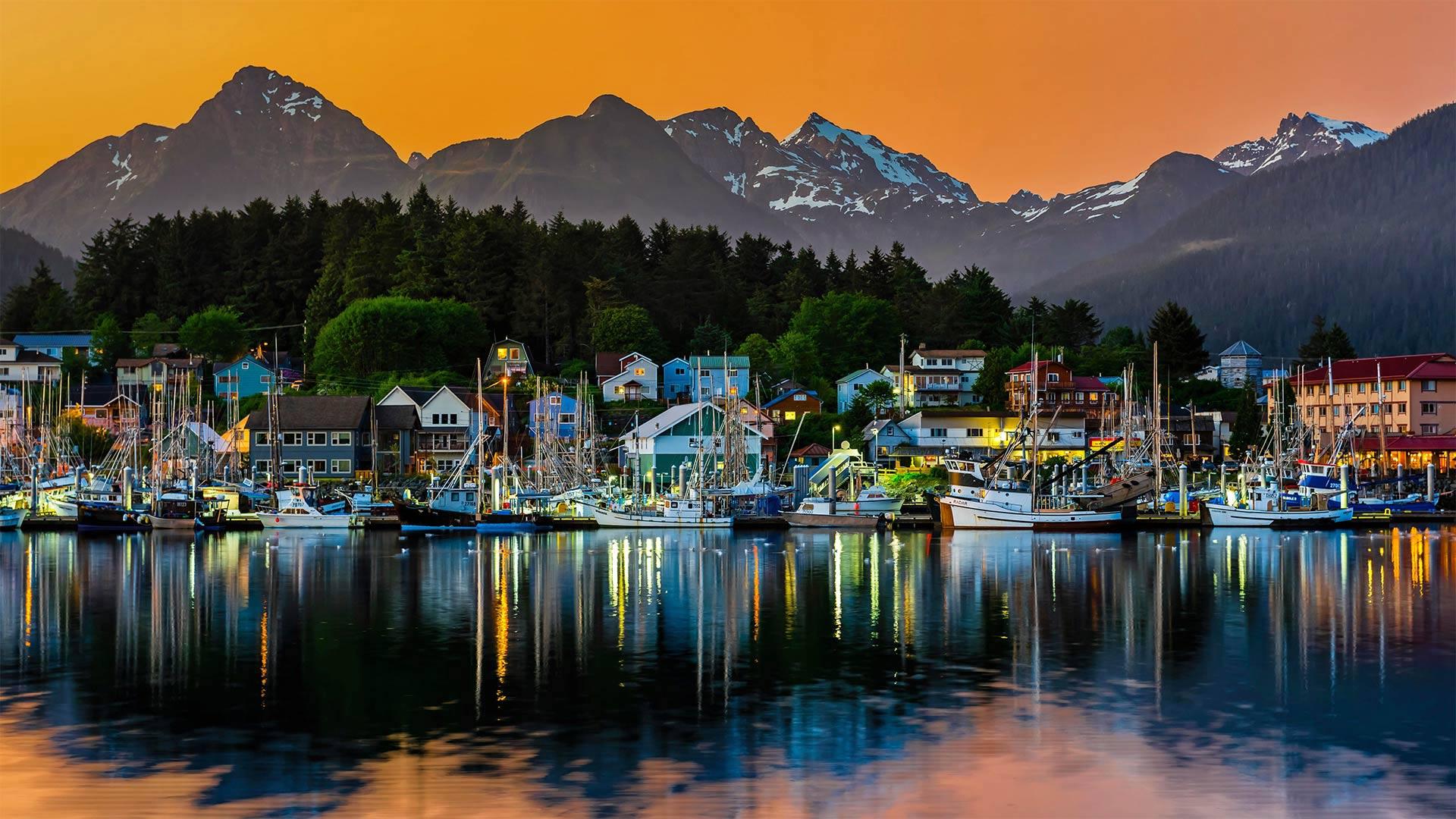 Harbor in Sitka, Alaska (© Blaine Harrington III/Alamy)