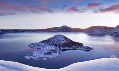 火山口湖,俄勒冈州