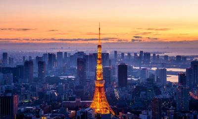 2021.07.23 - 东京塔,日本东京都港区