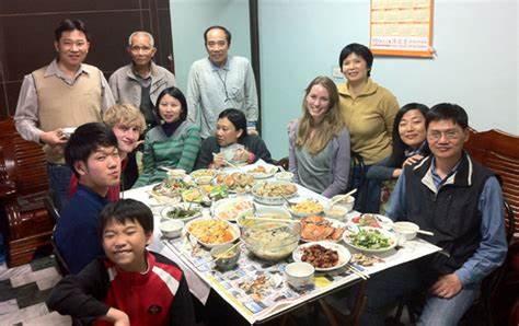 Çin'de yabancıları ağırlayan bir ev- bing.com