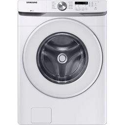Samsung - 4.5 Cu. Ft. Front Load Washer With Vibration Reduction Technology+ - White