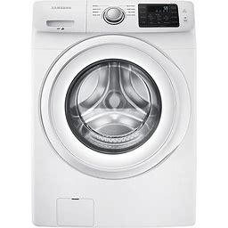 Samsung - 4.2 Cu. Ft. 8-Cycle High-Efficiency Front-Loading Washer - White